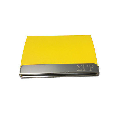 Sigma gamma rho engraved business card holder the greek store sigma gamma rho engraved business card holder reheart Gallery