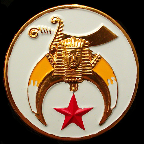 Shriner Car Badge
