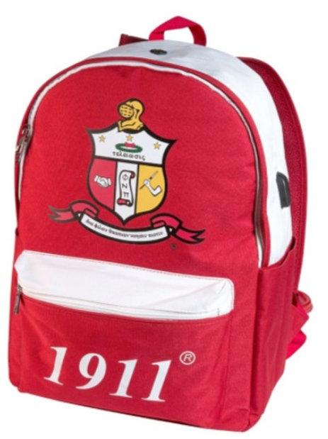 Kappa Alpha Psi USB Port Backpack