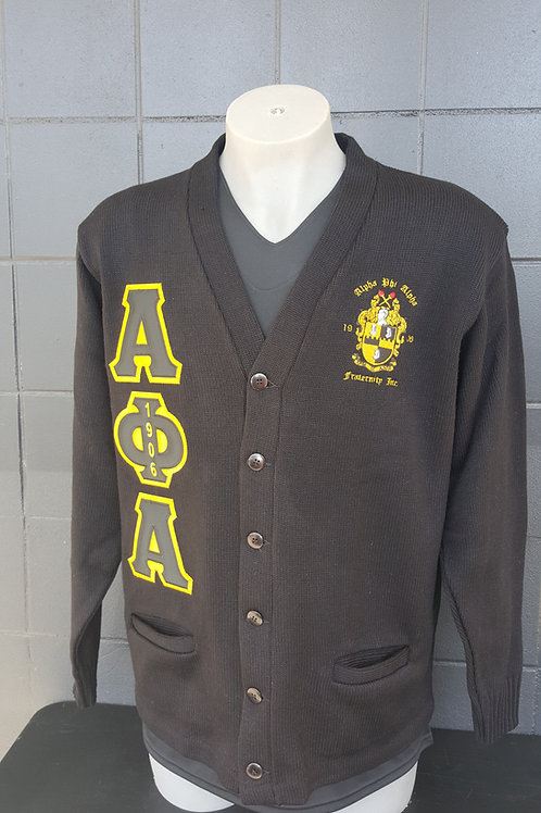 Alpha Phi Alpha Heavy Weight Cardigan