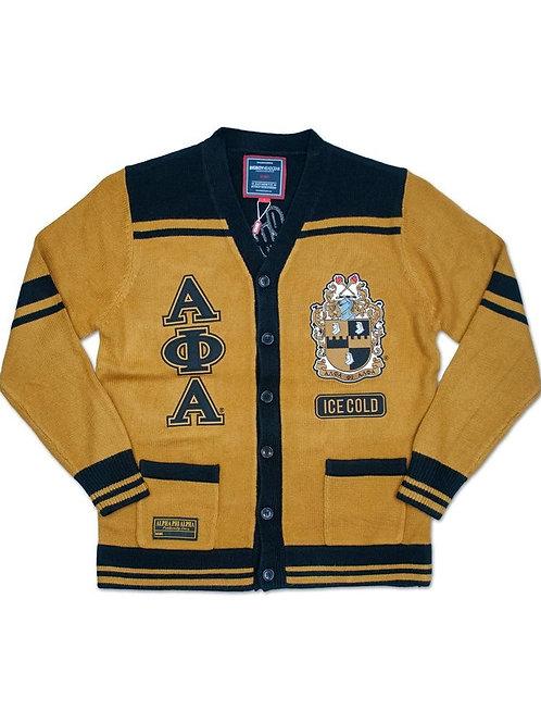 Alpha Phi Alpha Sweater MANLY DEEDS BLACK