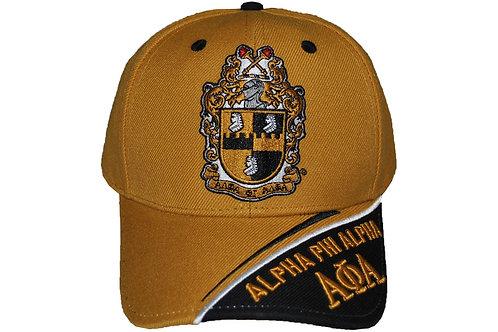 Alpha Phi Alpha Gold Crest Cap