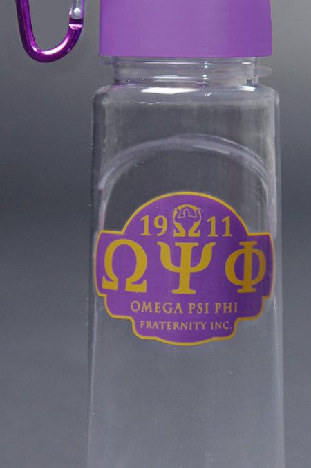 Omega Psi Phi Water Bottle