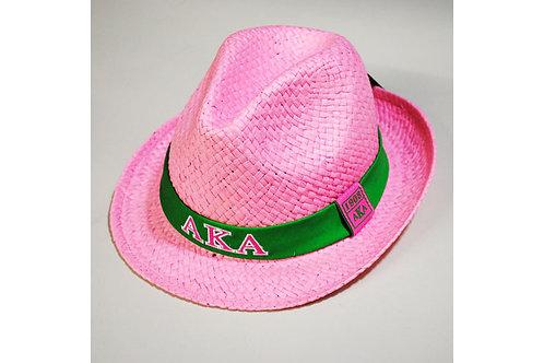 Alpha Kappa Alpha Fedora Hat