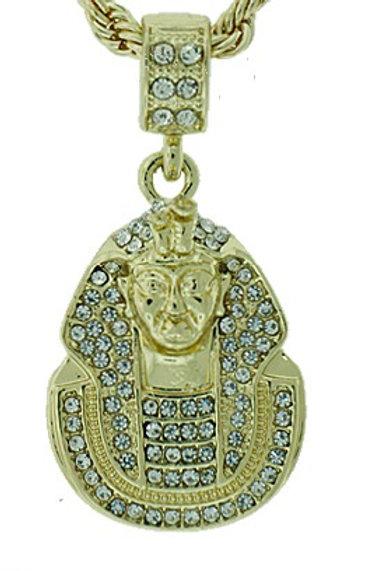 Alpha Phi Alpha Pharaoh Pendant Necklace
