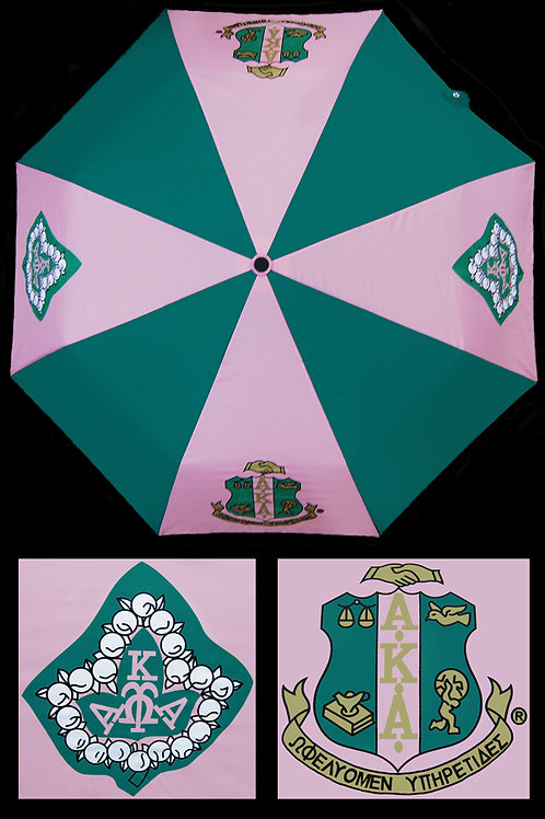 Alpha Kappa Alpha Purse Umbrella