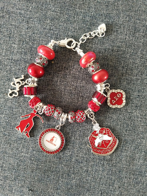 Delta Sigma Theta Pandora Bracelet