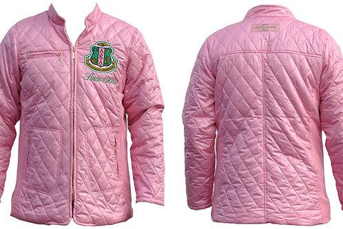 Alpha Kappa Alpha Padded Jacket Pink