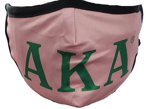 Alpha Kappa Alpha Face Mask