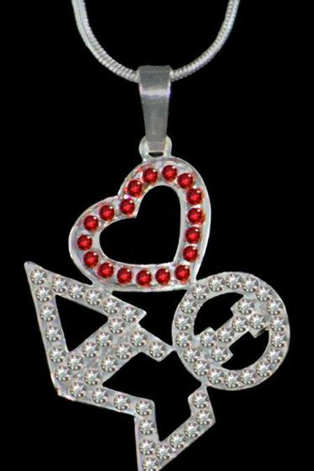 Delta Sigma Theta Pendant Necklace