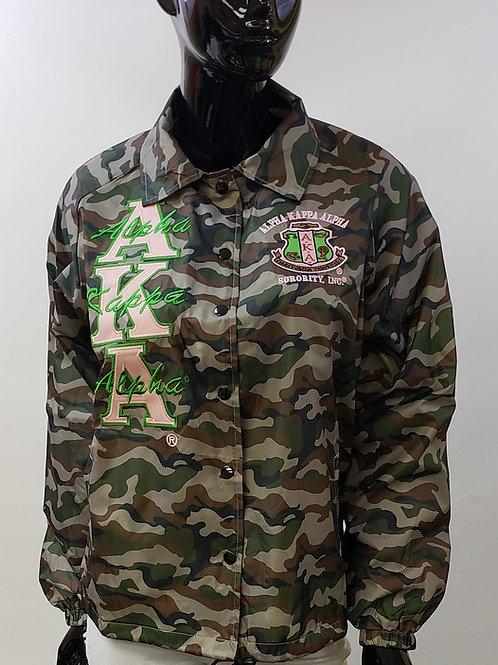 Alpha Kappa Alpha Camo Line Jacket