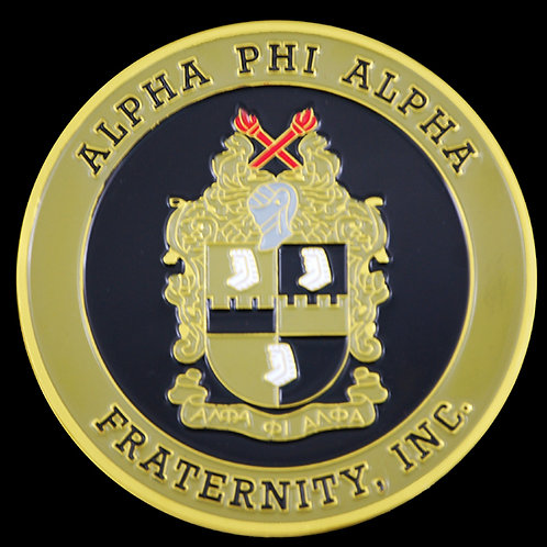 Alpha Phi Alpha Car Badge