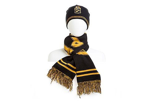 ALPHA PHI ALPHA Beanie and Scarf Set