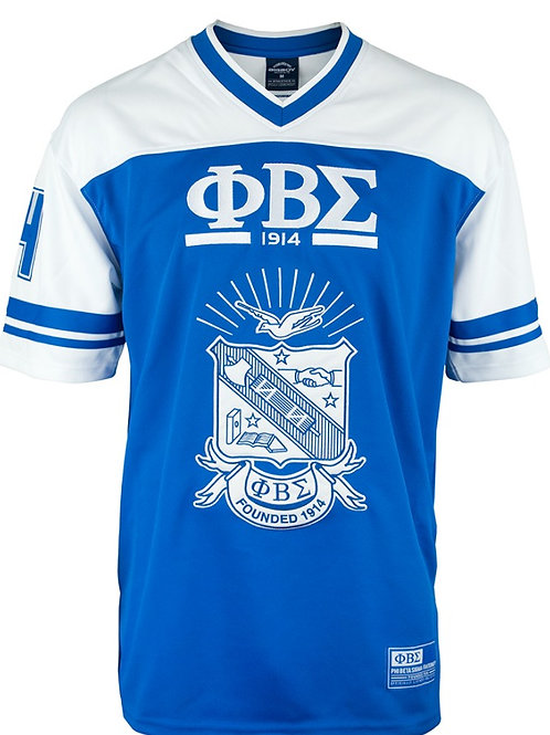 PHI BETA SIGMA FOOTBALL JERSEY