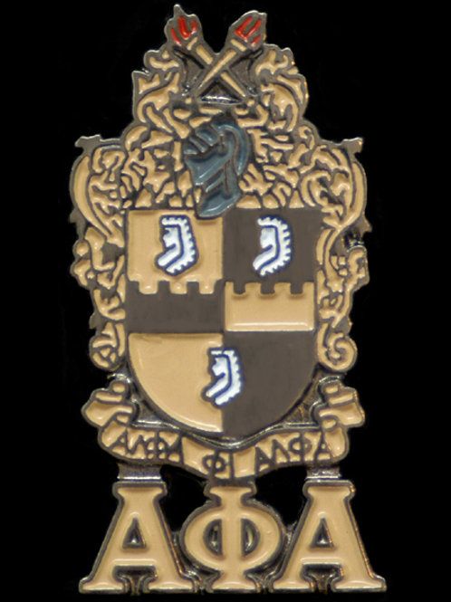 Alpha Phi Alpha Shield Lapel Pin