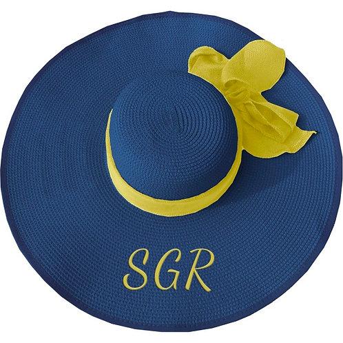 SIGMA GAMMA RHO FLOPPY HAT BLUE