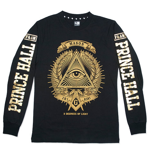 PRINCE HALL MASON LONG SLEEVE TEE