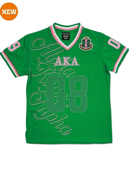 Alpha Kappa Alpha Football Jersey