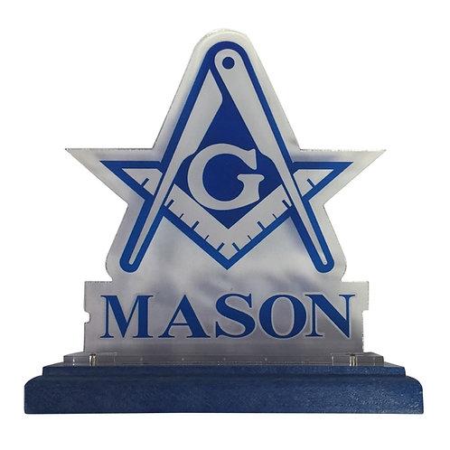 MASON ACRYLIC DESKTOP CREST