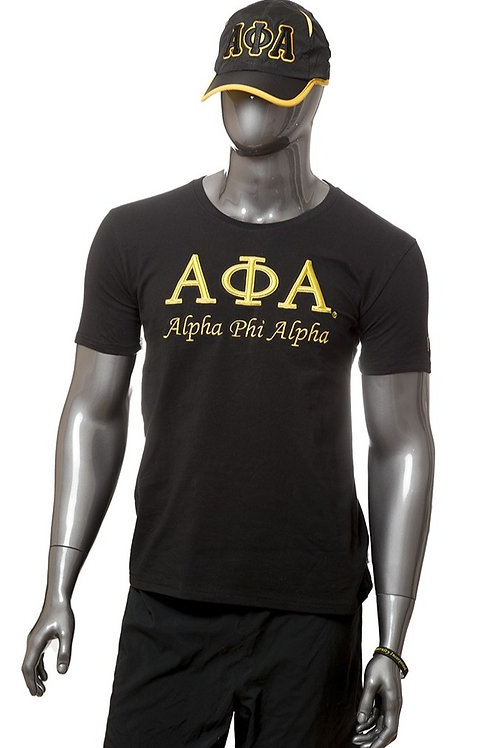 Alpha Phi Alpha 3-D Embroidered Tee