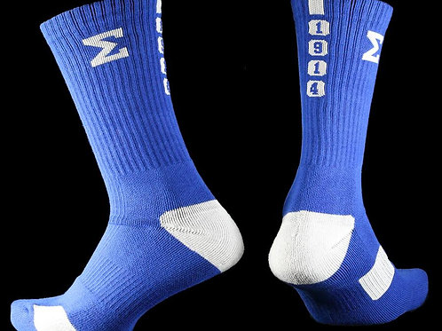 Phi Beta Sigma Dry Fit Men's Crew Socks