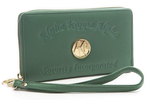 Embossed Soft Leather Wallet