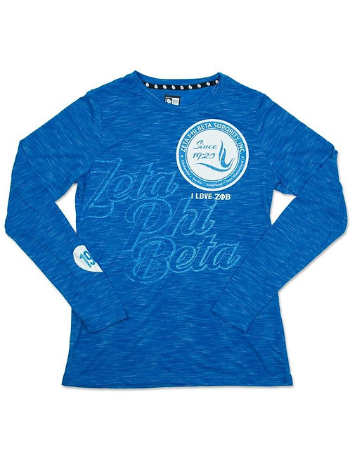 Zeta Phi Beta Long Sleeve Tee