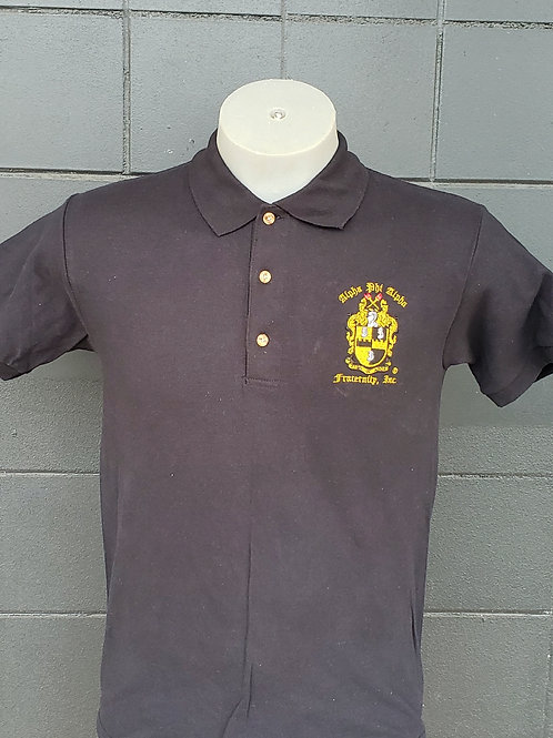 ALPHA PHI ALPHA COTTON POLO SHIRT