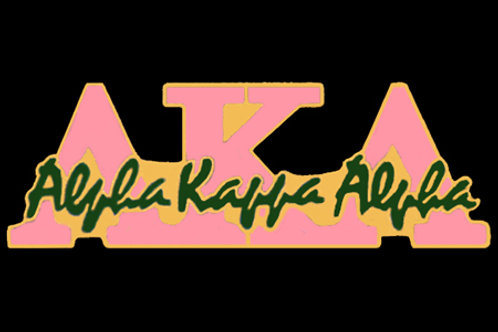 ALPHA KAPPA ALPHA SIGNATURE LAPEL PIN