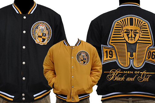 Alpha Phi Alpha Reversible Wool Jacket