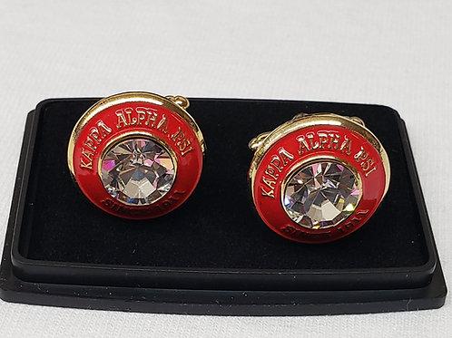 Kappa Alpha Psi cufflinks