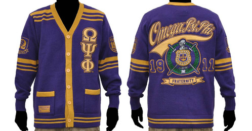 Omega Psi Phi Sweater Purple