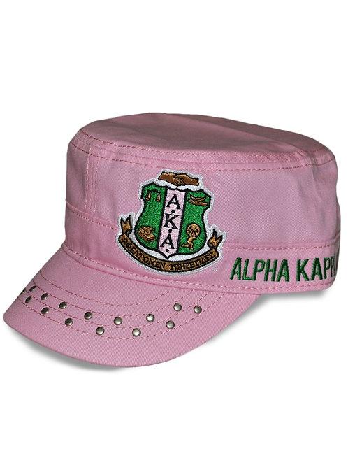 Alpha Kappa Alpha Captain Cap Pink