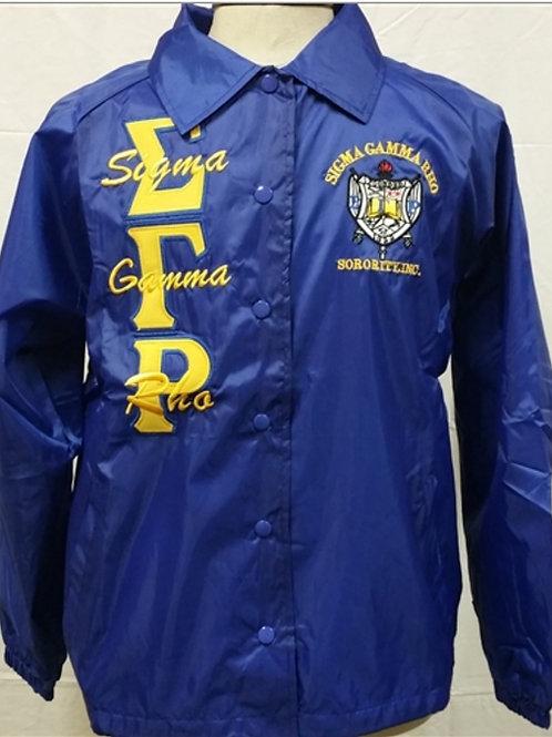 Sigma Gamma Rho Line Jacket