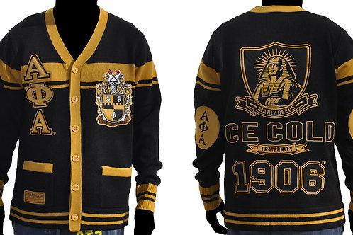 Alpha Phi Alpha Sweater ICECOLD BLACK