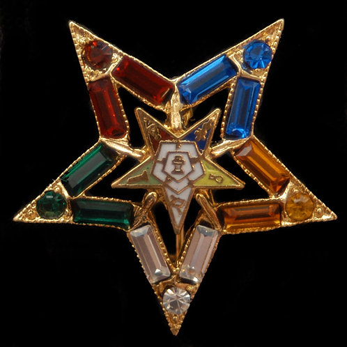 Order of Eastern Star Lapel Pin