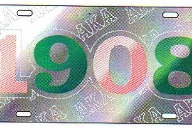 ALPHA KAPPA ALPHA MIRROR PLATE #6201