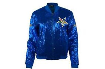 ORDER OF THE EASTERN STAR Sequin Jacket