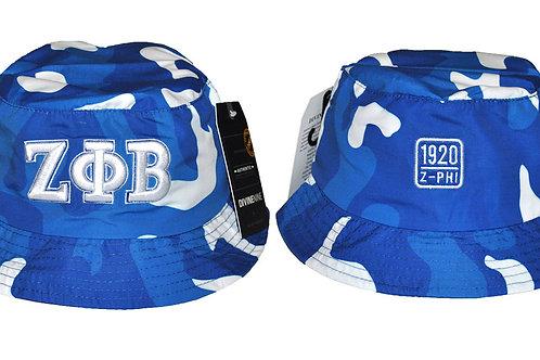 Zeta Phi Beta Camo Bucket Hat