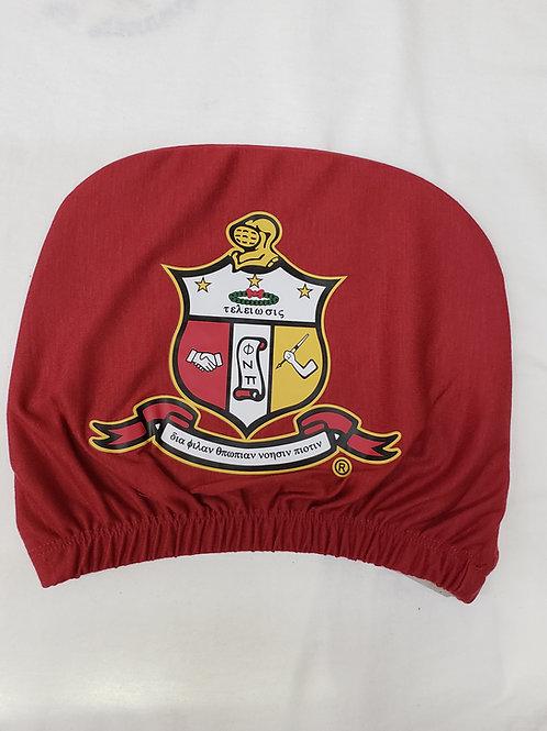 Kappa Alpha Psi Headrest Cover