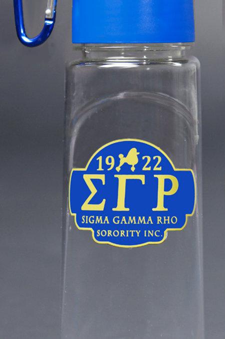 Sigma Gamma Rho Water Bottle