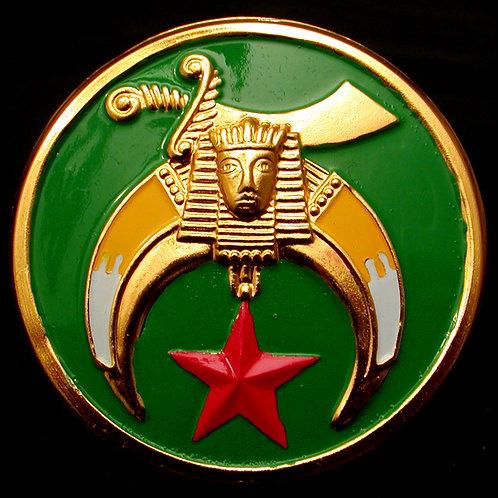 Shriner Car Badge