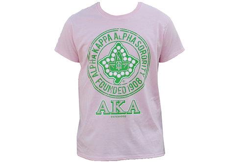Alpha Kappa Alpha Tee Pink