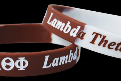 Lambda Theta Phi 100% Silicone Bracelet