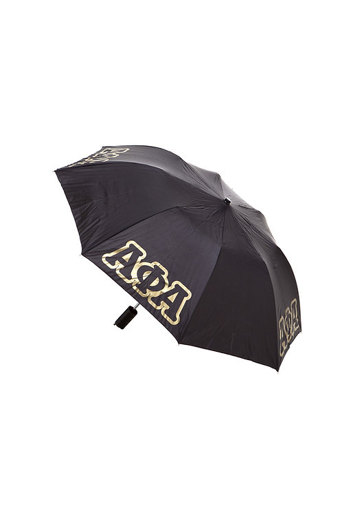 ALPHA PHI ALPHA  3 Letter Folding Umbrella