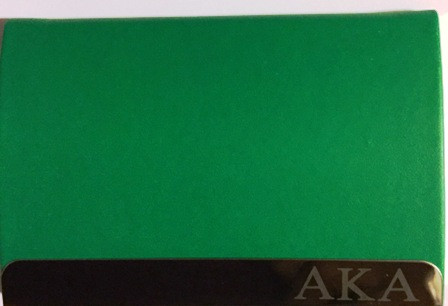 Alpha kappa alpha engraved business card holder the greek store organizations name engraved on the inside colourmoves Gallery