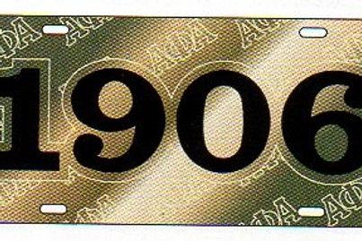 ALPHA PHI ALPHA MIRROR PLATE #6305
