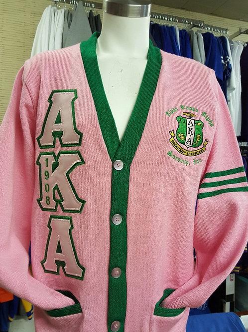 Alpha Kappa Alpha Heavy Weight Cardigan