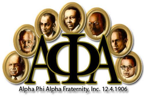 Alpha Phi Alpha Founder Lapel Pin