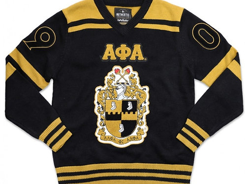 Alpha Phi Alpha PULL OVER V-NECK SWEATER